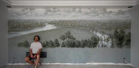 Sienų tapyba.  Wall painting