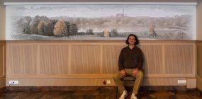 """Sienų tapyba. Restoranas """"Panorama"""""""