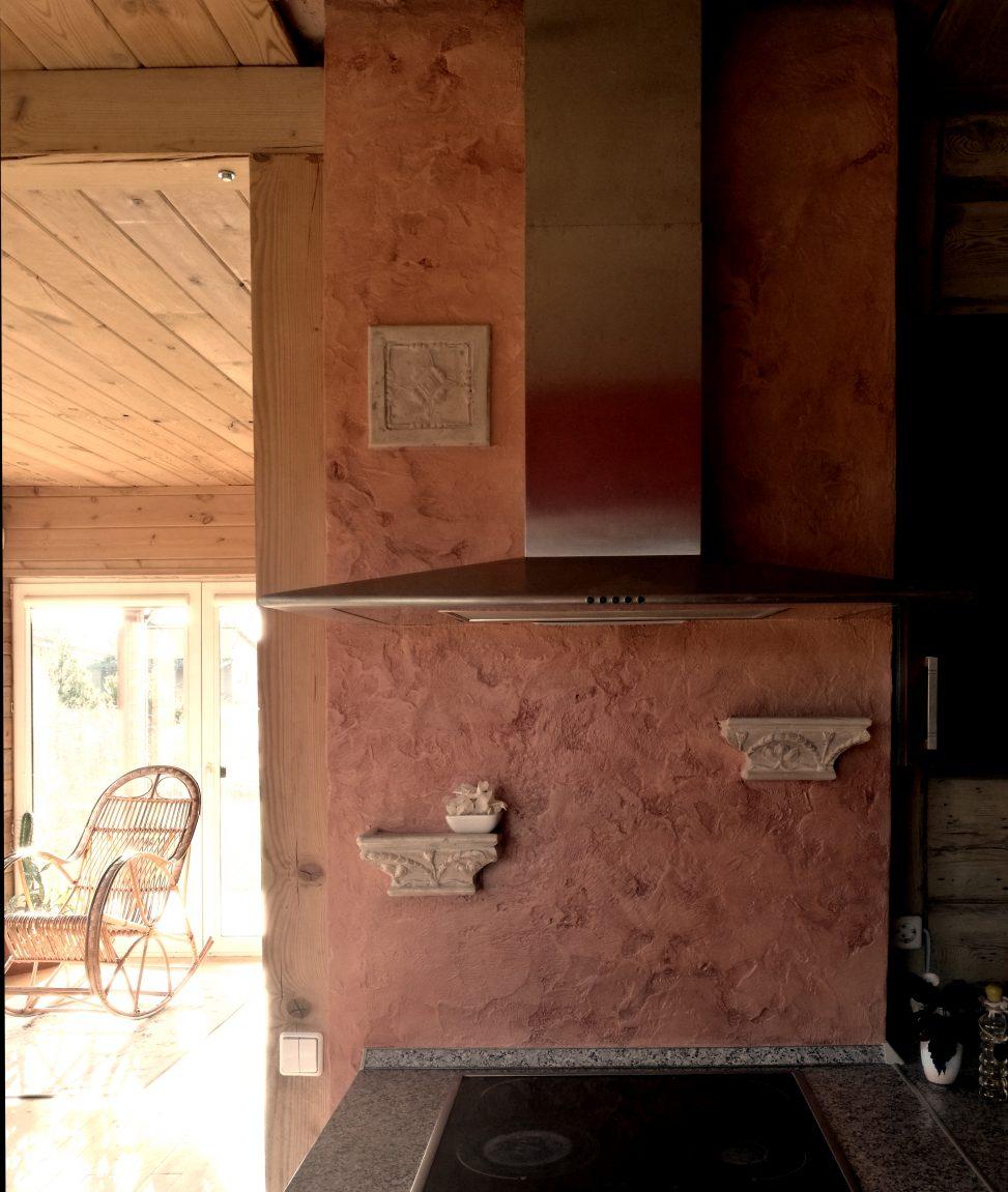 Decorative plaster • dekoravimo tinkas